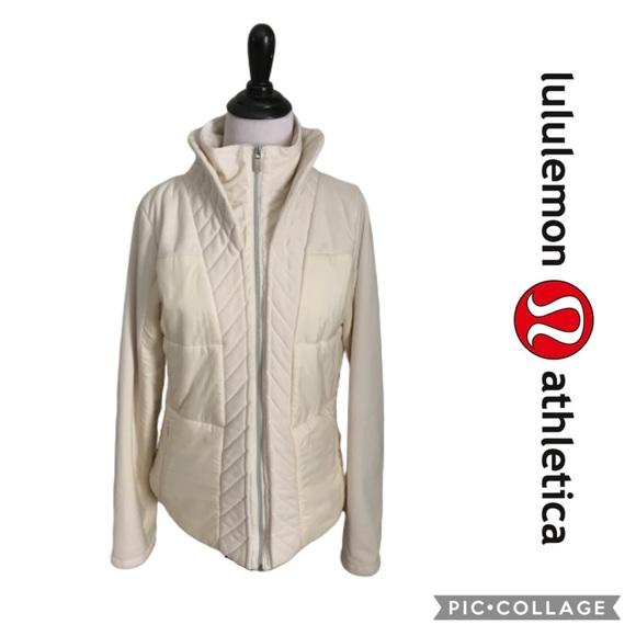 Lululemon Jacket St Moritz Fleece Sweater Coat